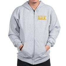 better-call-saul-cap-yellow Zip Hoodie