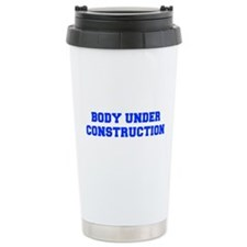 BODY-UNDER-COSTRUCTION-FRESH-BLUE Travel Mug