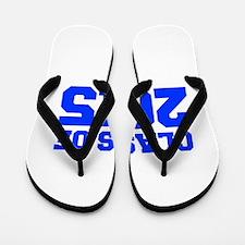 CLASS-OF-2015-FRESH-BLUE Flip Flops
