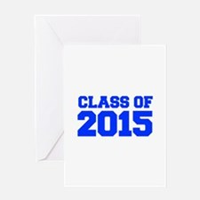 CLASS-OF-2015-FRESH-BLUE Greeting Cards