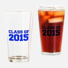 CLASS-OF-2015-FRESH-BLUE Drinking Glass