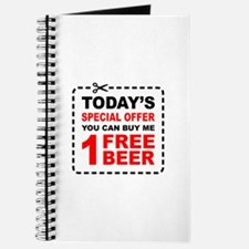 Free Beer Special Offer Coupon Journal
