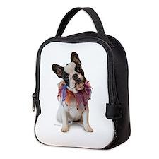 French Bulldog Puppy Neoprene Lunch Bag