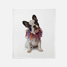 French Bulldog Puppy Throw Blanket