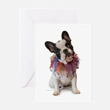 French Bulldog Puppy Greeting Cards (Pk of 20)