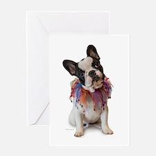 French Bulldog Puppy Greeting Card