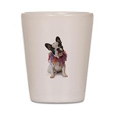 French Bulldog Puppy Shot Glass