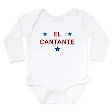 Cute El cantante Long Sleeve Infant Bodysuit