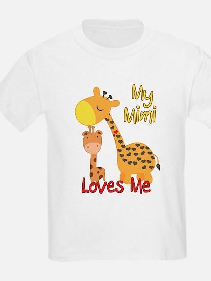 My Mimi Loves Me Giraffe T-Shirt