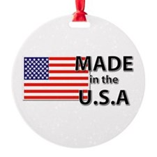 Made in the USA Ornament