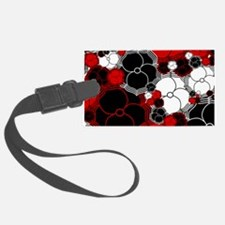 Fantasy Flower Motif Luggage Tag