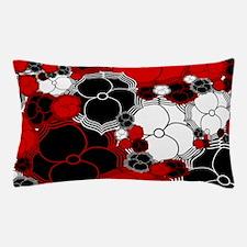 Fantasy Flower Motif Pillow Case