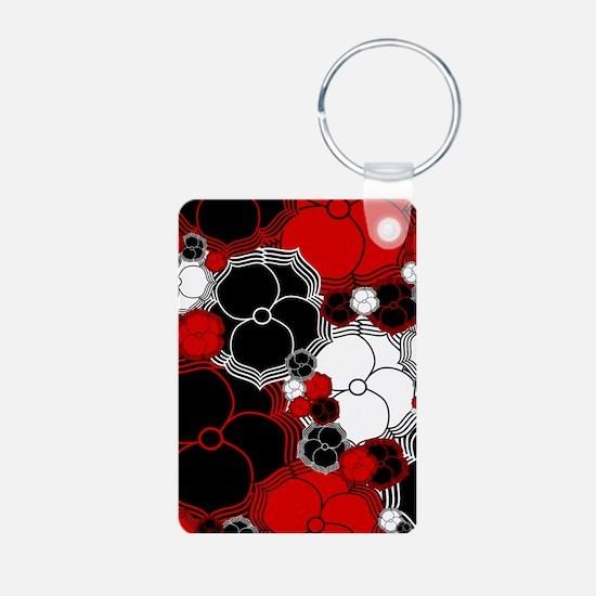 Fantasy Flower Motif Keychains