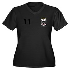Germany Custom Jersey Plus Size T-Shirt