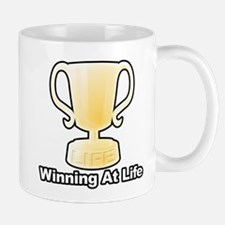 Winning At Life Mugs