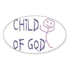 Child of God Oval Decal