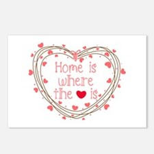 Home Is Where The Love Is Postcards (Package of 8)