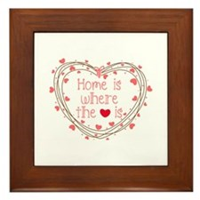 Home Is Where The Love Is Framed Tile
