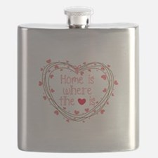 Home Is Where The Love Is Flask