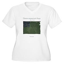 Green Mountain boys Plus Size T-Shirt