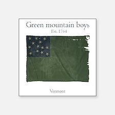 Green Mountain boys Sticker