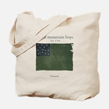 Green Mountain boys Tote Bag