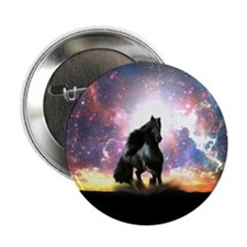 """Galactic Stallion 2.25"""" Button"""