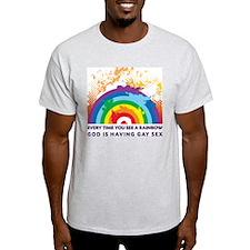GOD RAINBOW SEX T-Shirt