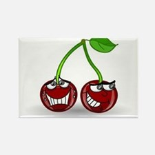 Cherry Trouble Rectangle Magnet