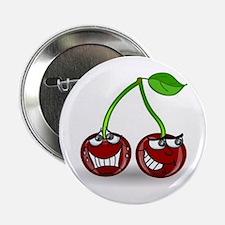 "Cherry Trouble 2.25"" Button"