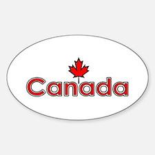 Canada Maple Leaf Decal