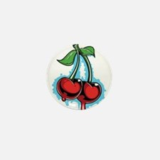 Cha cha Cherries Mini Button