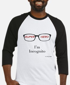 incognito red Baseball Jersey