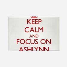 Keep Calm and focus on Ashlynn Magnets