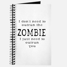 Outrun The Zombie 1 Journal