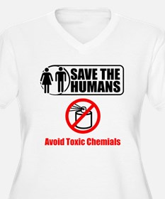 Save The Humans Plus Size T-Shirt
