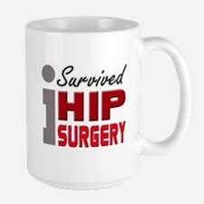 isurvived-hipsurgery Mugs