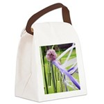 Lavender flower ball with streaming ribbons Canvas
