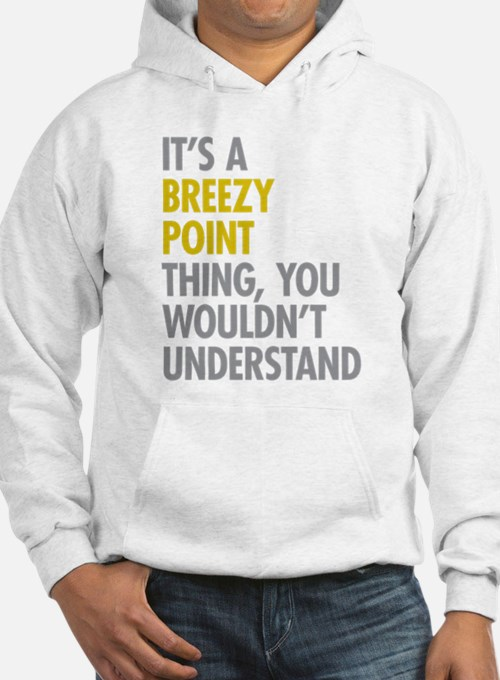 Breezy Point Queens NY Thing Hoodie