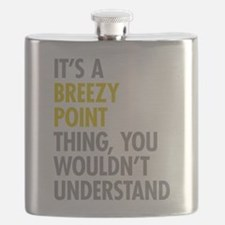 Breezy Point Queens NY Thing Flask