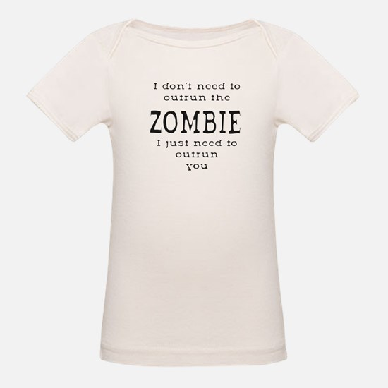 Outrun The Zombie 1 T-Shirt