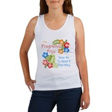 Fragrance Free Design Tank Top