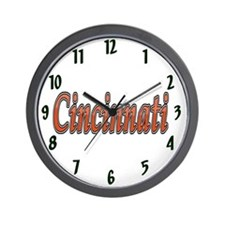 Cincinnati Sports Wall Clock