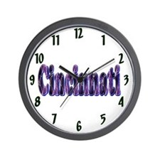 Cincinnati Lightning Wall Clock