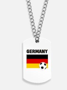 Germany soccer Dog Tags