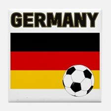 Germany soccer Tile Coaster