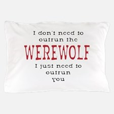 Outrun The Werewolf 3 Pillow Case