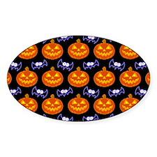 Halloween Pattern Decal