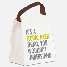Floral Park Queens NY Thing Canvas Lunch Bag