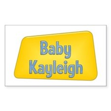Baby Kayleigh Rectangle Decal